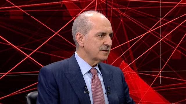 AK Parti Genel Başkanvekili Numan Kurtulmuş TVNET'te konuştu