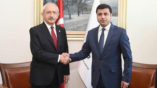 Kılıçdaroğlu CHP-HDP-İYİ Parti ittifakına kılıf buldu: Demirtaş gibi düşünüyorum