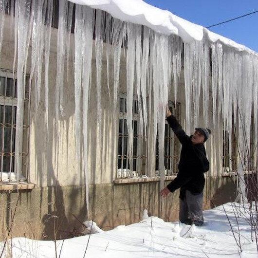 Doğu Anadolu'nun en soğuk yerleşim yeri: Eksi 26'yı gördü