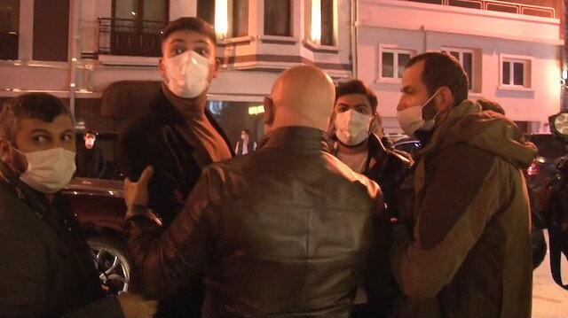 Boğaz manzaralı otelde eğlenceye baskın: Görüntü alan gazetecilere saldırdılar