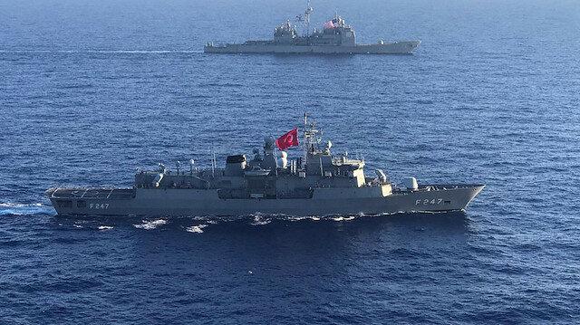 Türkiye ve ABD Doğu Akdeniz'de ortak eğitim yapacak
