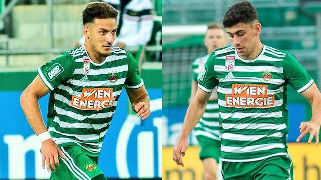 Rapid Wien forması giyen Türk yıldızlar Avusturya için oynayacak