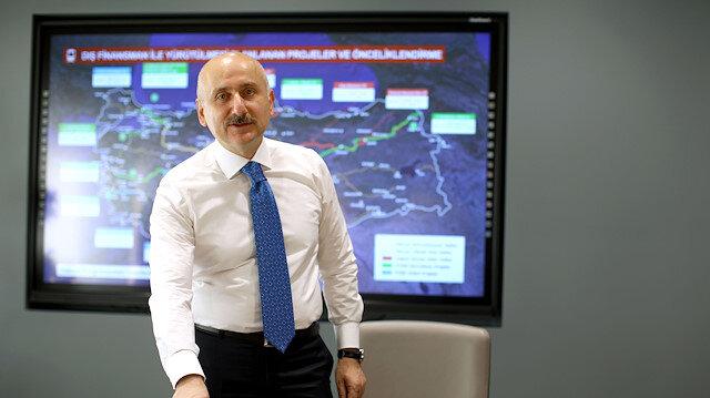 Ulaşım ve iletişim altyapısına 19 yılda 931 milyar lira yatırım