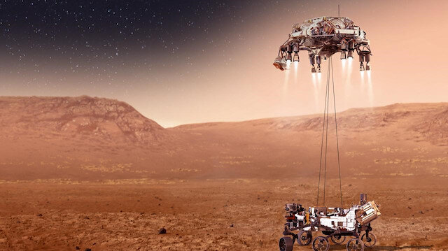 Mars'ın 3.7 milyar yıl önce kaybolan suyu ne oldu?