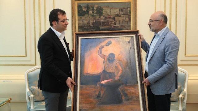 HDP'den İmamoğlu'na 'isyanın fitilini ateşleyen kahraman' tablosu