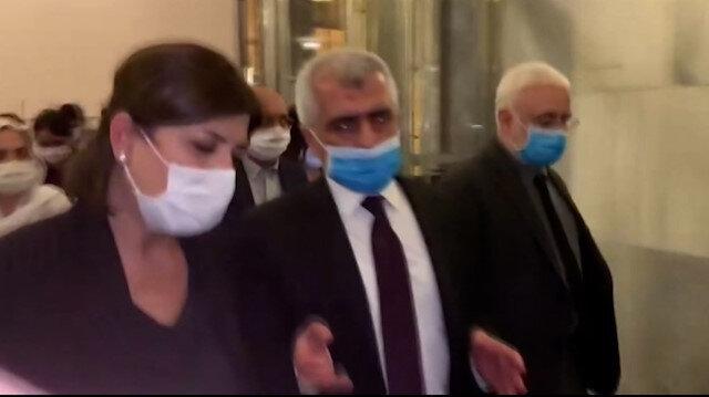 HDP'li Gergerlioğlu TBMM Genel Kurul salonundan ayrıldı