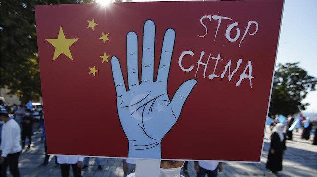 AB'den Uygurlara baskı uyguladığı gerekçesiyle Çin'e yaptırım
