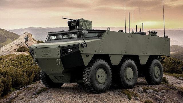 Türkiye'nin yeni zırhlısı 'Pars İzci'nin üretimi başladı: Yurt dışında da çok ilgi görecek