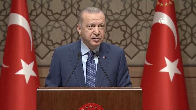 Cumhurbaşkanı Erdoğan: Milli andımız İstiklal Marşı'dır