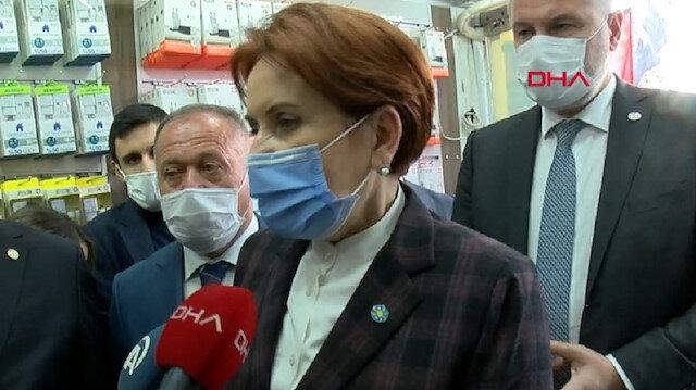 Meral Akşener'in HDP paniği: Soru sorulmasına izin vermeden kaçtı
