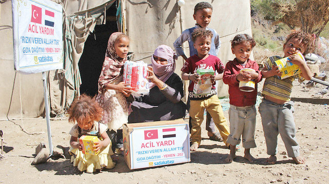 Yemen açlık virüsü ile mücadele ediyor