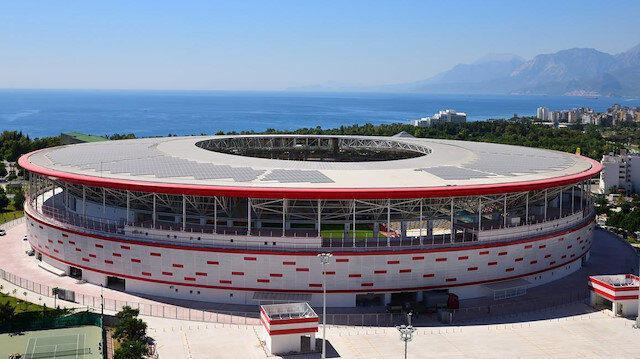 Antalya Stadı 600 hanenin yıllık elektrik ihtiyacını karşılıyor