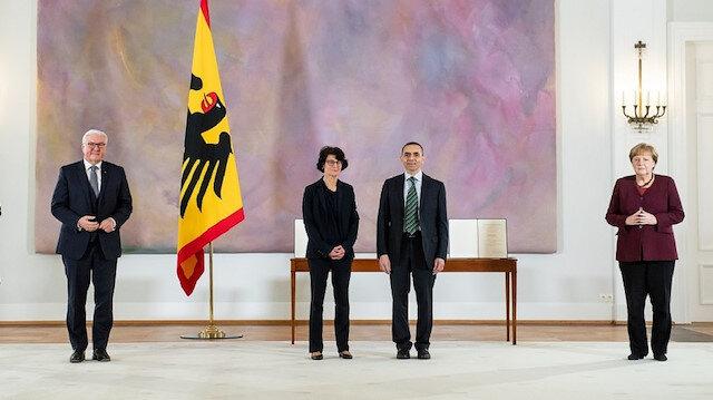 Almanya'dan liyakat nişanı