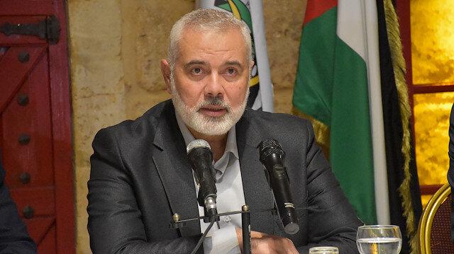 Hamas lideri Heniyye: Türkiye İsrail'in işlediği suçlara karşı durmalı