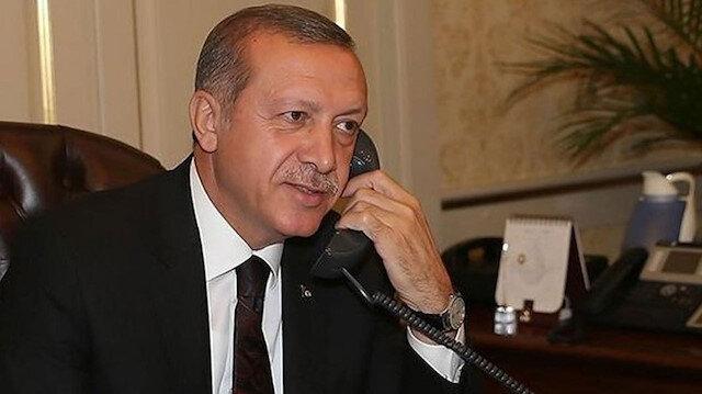 Cumhurbaşkanı Erdoğan Libya Başbakanı Dibeybe ile görüştü