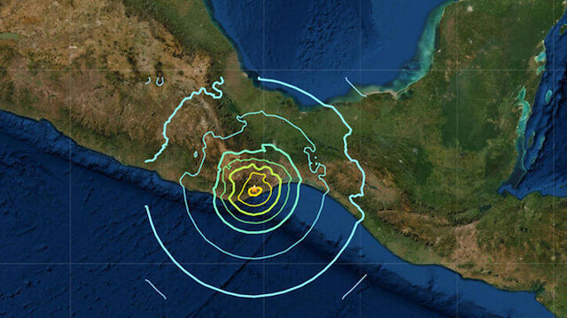 Meksika'da korkutan deprem!