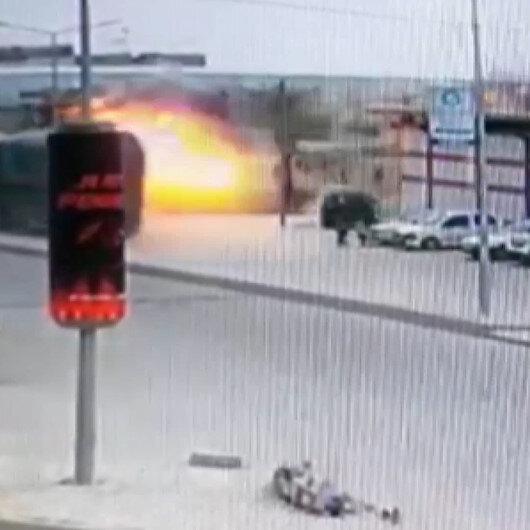 El Babda şiddetli patlama: Ortalık savaş alanına döndü
