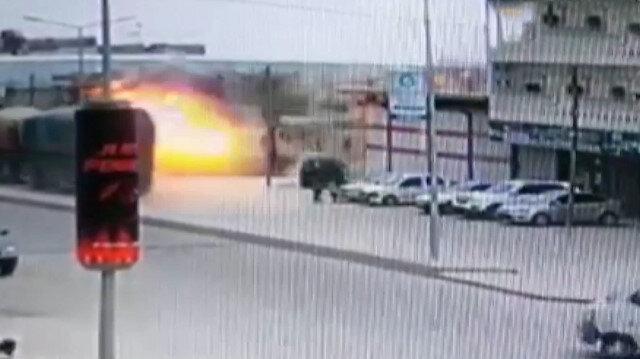 El Bab'da şiddetli patlama: Ortalık savaş alanına döndü