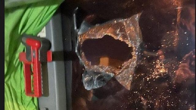 GZT Giresunspor takım otobüsü Samsun'da taşlı saldırıya uğradı