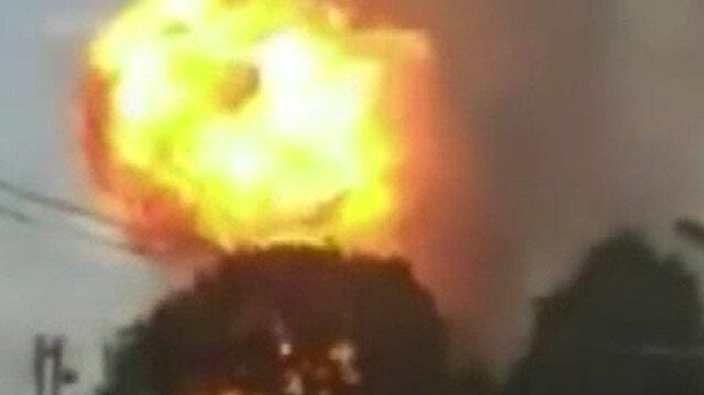 Venezuela'da doğalgaz boru hattında patlama