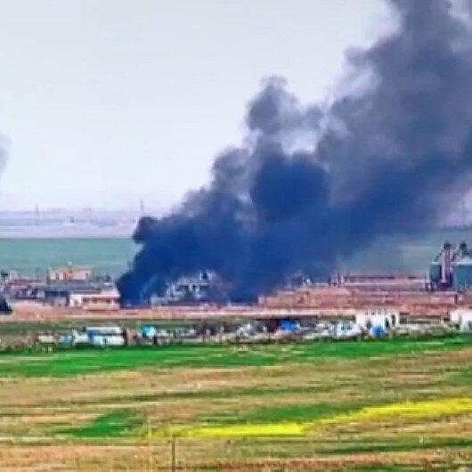 PKK/YPGli teröristlerin hain planı ortaya çıktı: Sivil yerleşim yerleri ateşe verildi