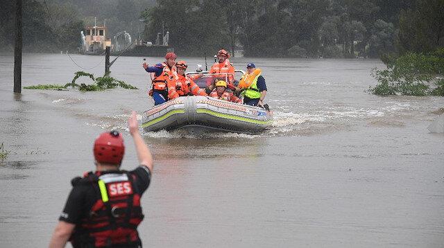 Avustralya'da yüzyılın sel felaketi: 'Doğal afet' ilan edildi
