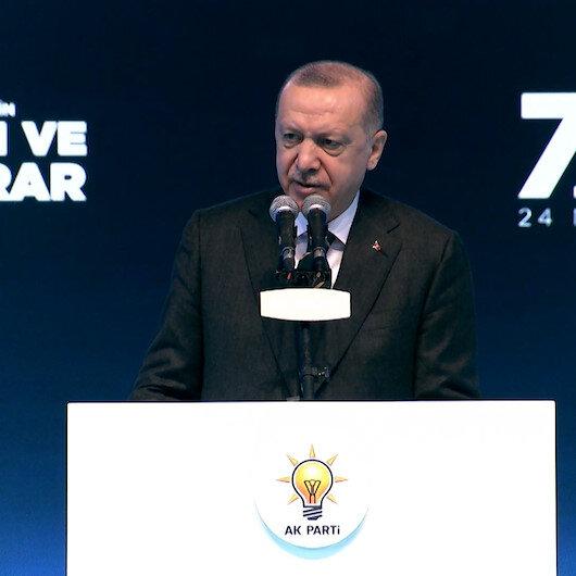 Cumhurbaşkanı Erdoğan, Piyasalardaki dalgalanmalar Türkiyenin yarınını kesinlikle yansıtmıyor