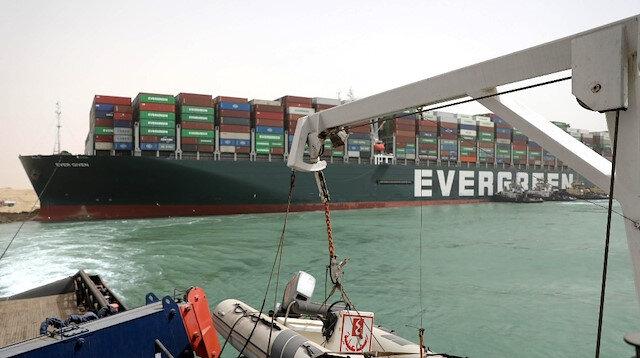 Japon şirketten açıklama: Süveyş Kanalı'nı tıkadığımız için özür dileriz