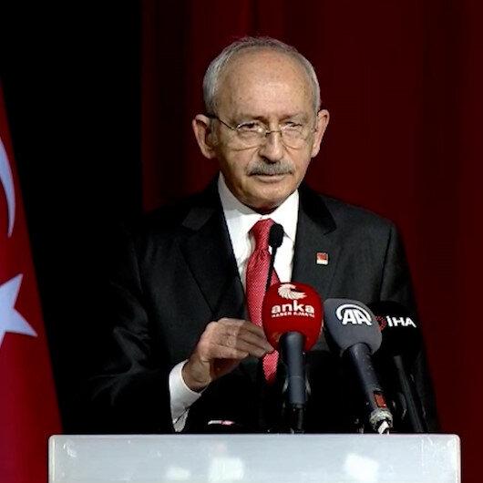 Kılıçdaroğlu toplantının basına kapalı olduğunu teyit ettikten sonra seslendi: İstediğiniz soruyu sorabilirsiniz