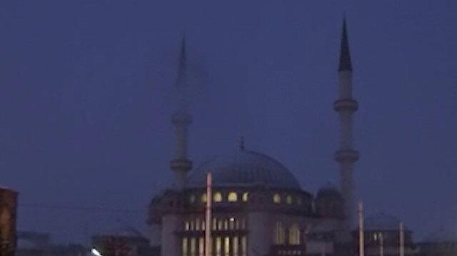 İstanbul'da etkili kar yağışı
