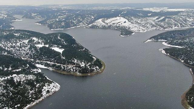 Kar yağışı barajlara can suyu oldu: İstanbul'da barajların doluluk oranı yüzde 70 seviyesine çıktı
