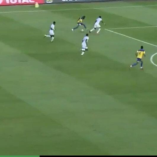 Boupendza Milli Takımda gollerine devam ediyor