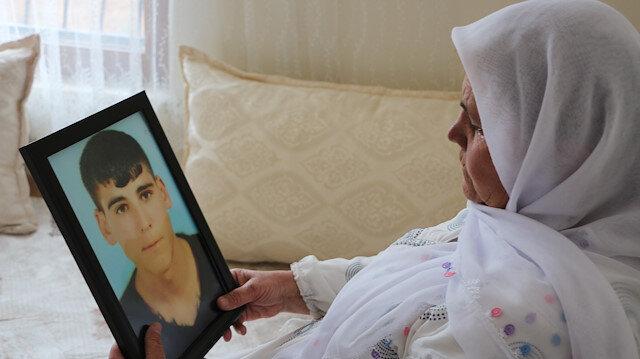 PKK'nın kaçırdığı oğlu gelecek umuduyla sofraya bir tabak fazla bırakıyor