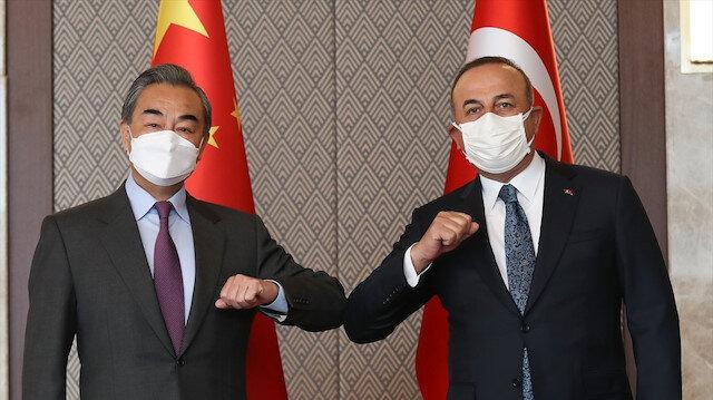 Çin Dışişleri Bakanı Türkiye'de: Çavuşoğlu mevkidaşı Wang Yi ile görüştü