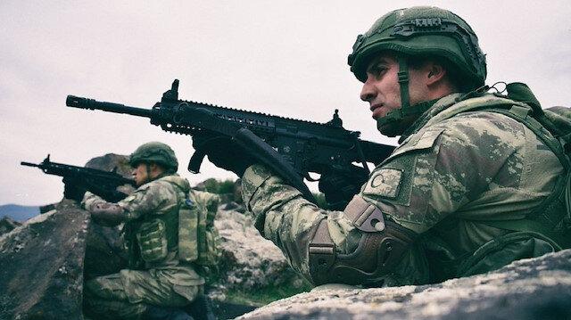 MSB: Barış Pınarı bölgesine taciz ateşi açan ve sızma girişiminde bulunan 5 PKK/YPG'li terörist etkisiz hâle getirildi