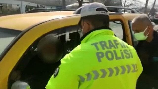 Sivil polis müşteri gibi korsan taksiye bindi: Sürücü 8 bin 349 lira ceza yedi