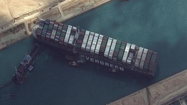 Süveyş Kanalı için 3 ayrı kurtarma planı hazırlandı