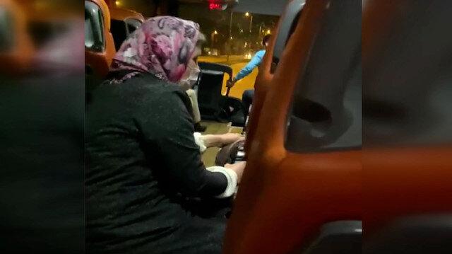 Yolcu otobüsünde 'kadına temizlik yaptırıldı' iddiası sosyal medyayı ayağa kaldırdı