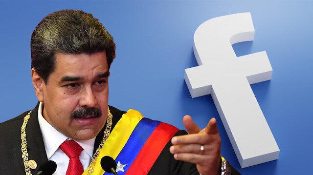 Facebook'dan Venezuela Devlet Başkanı Maduro'ya sansür: Yanlış bilgi yayıyor