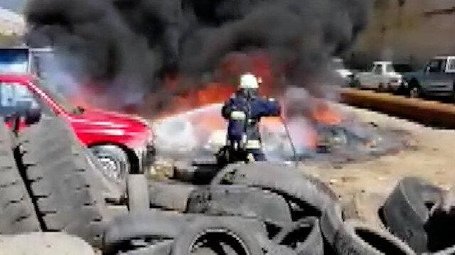 Antalya'da yürekleri ağızlara getiren yangın