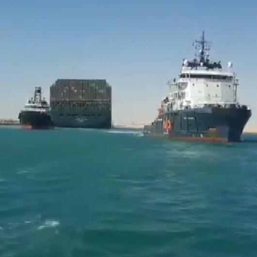 Süveyş Kanalını tıkayan Ever Given gemisi kurtarıldı