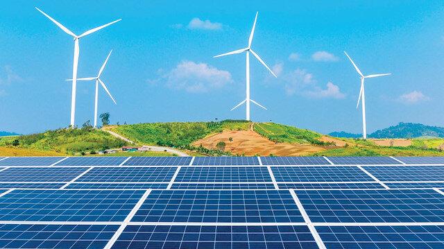 Rüzgar ve güneş enerjimiz artıyor