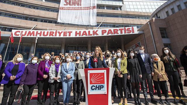 Parti içindeki tacizlere sessiz kalan CHP Kadın Kolları'ndan İstanbul Sözleşmesi kararının iptali için Danıştay'a başvuru