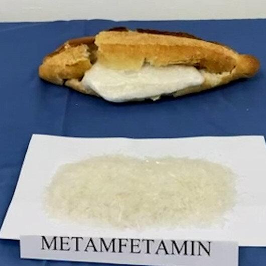 Kırıkkalede ekmeğin arasından uyuşturucu çıktı