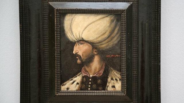 Kanuni Sultan Süleyman'ın portresine rekor fiyat