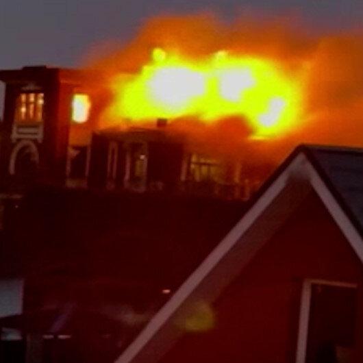 Rusyada gözaltına alınmak istenen şahıs evini ateşe verdi