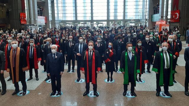 Şehit Savcı Mehmet Selim Kiraz için İstanbul Adalet Sarayı'nda anma töreni