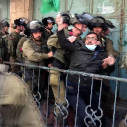 İşgalci İsrail güçleri Filistinli protestoculara saldırdı