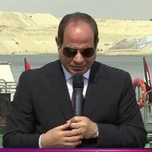 Mısırın darbeci Cumhurbaşkanı Sisinin siren çalan gemi ile imtihanı