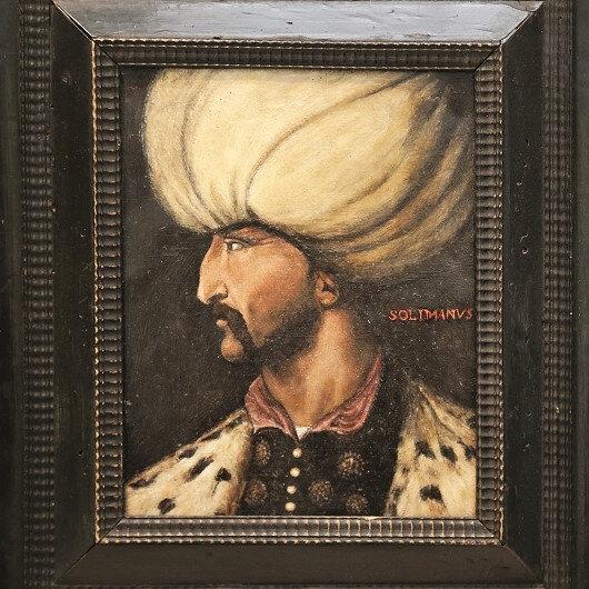 Kanuni portresine 5 milyon lira